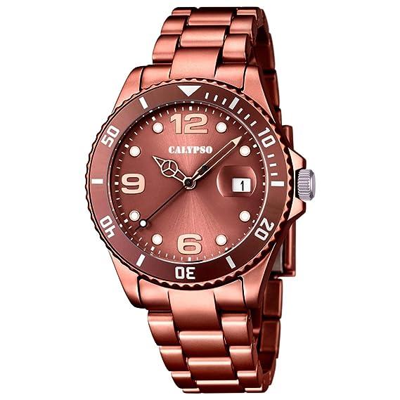 Calypso - Reloj de Pulsera analógico para Mujer Cuarzo plástico k5646/8: CALYPSO: Amazon.es: Relojes