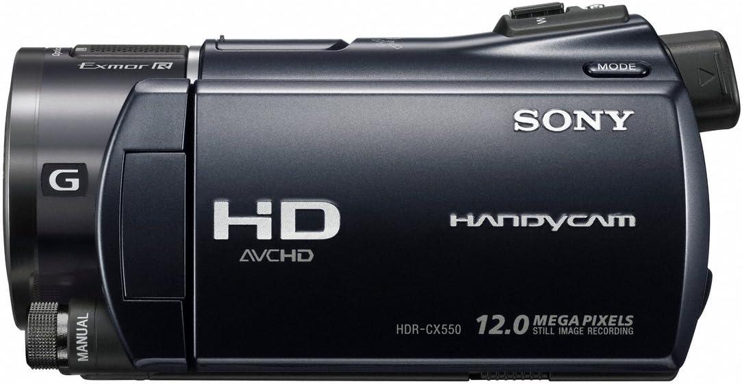 Sony Hdr Cx550veb Full Hd Camcorder 3 5 Zoll Schwarz Kamera