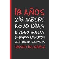 18 AÑOS SIENDO INCREIBLE: REGALO DE CUMPLEAÑOS ORIGINAL