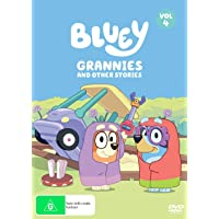 Bluey: Grannies And Other Stories Vol 4 (DVD)
