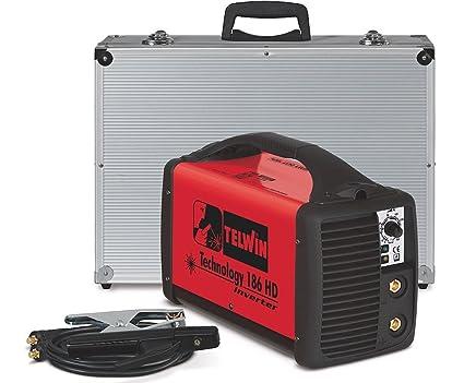 Telwin Technology 186 HD - Soldadora electrodos MMA inverter