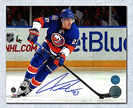 size 40 89533 6d769 Anders Lee New York Islanders Autographed 8x10 Photo ...
