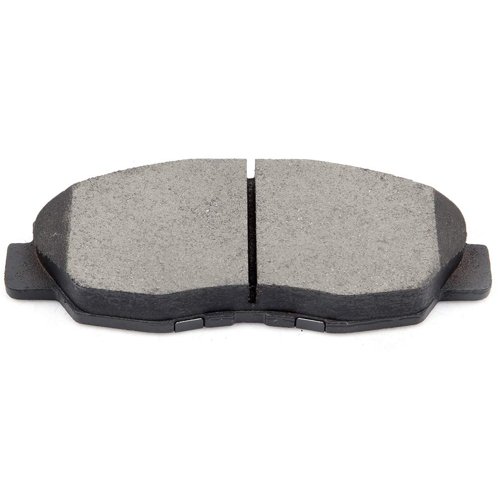 ECCPP Brake Pads Discs Kits 8pcs Front Rear Ceramic Disc Brakes Pads Set for 1997-1999 Acura CL,1990-1997 Honda Accord,2010-2011 Honda Civic Compatible with ATD537C,D537-7418 ATD465C,D465-7345