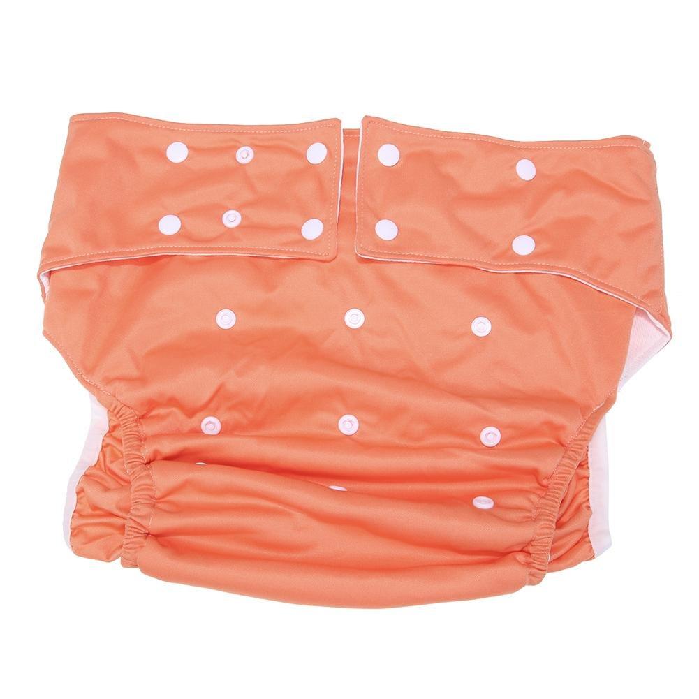 Domybest adultes couches en tissu Couche lavable réutilisable réglable couches pour incontinence Unisexe Care