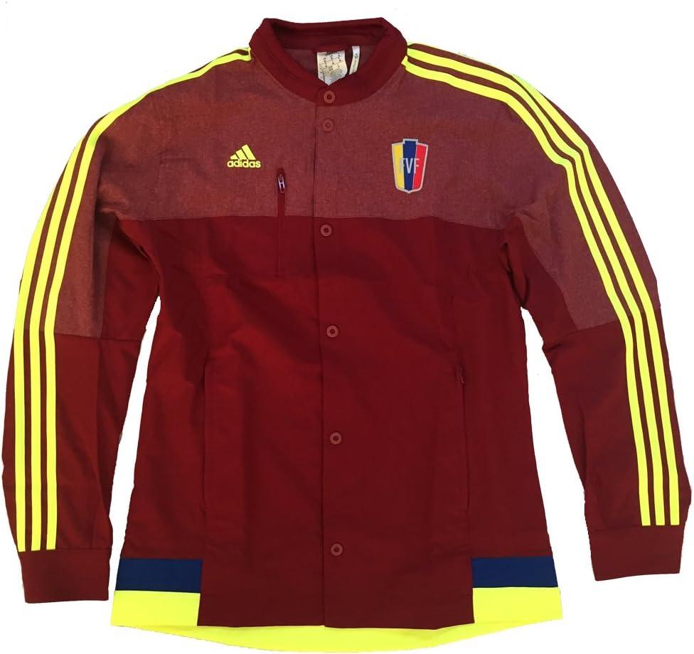 adidas Venezuela FVF Copa América 2015 Anthem chaqueta de chándal, Rojo vino: Amazon.es: Deportes y aire libre