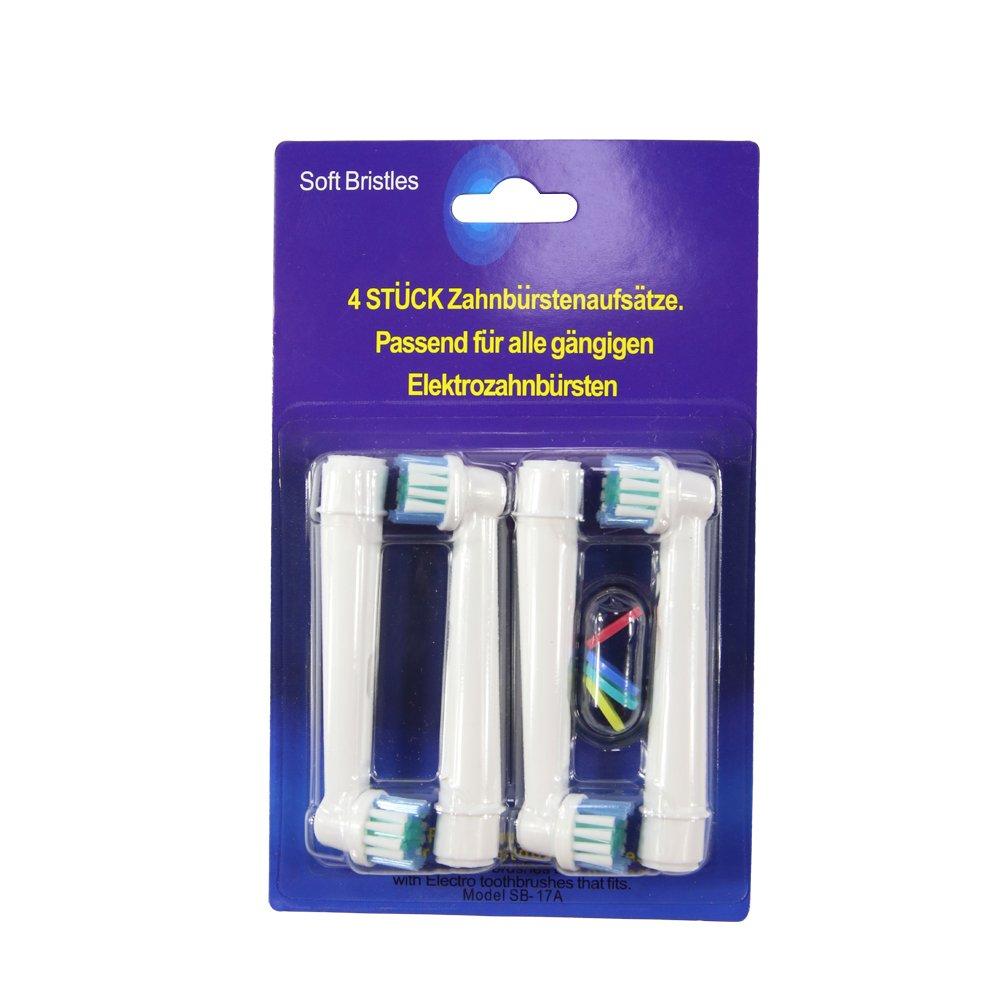 Reemplazo del cepillo eléctrico compatible con Oral-B, compatible con Oral-B / Braun Vitality Precision Clean, White Clean, Sensitive Clean, ...