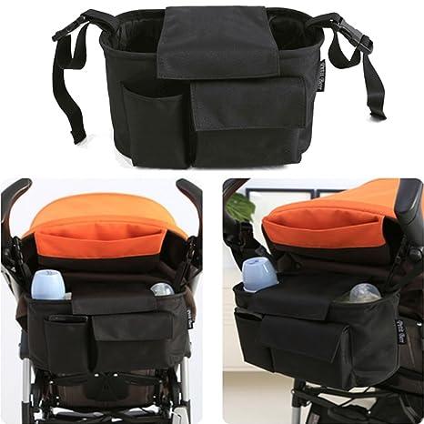 Carrito organizador, finoki desmontable bebé Buggy colgar funda con cartera y extra Bolsa para cochecito