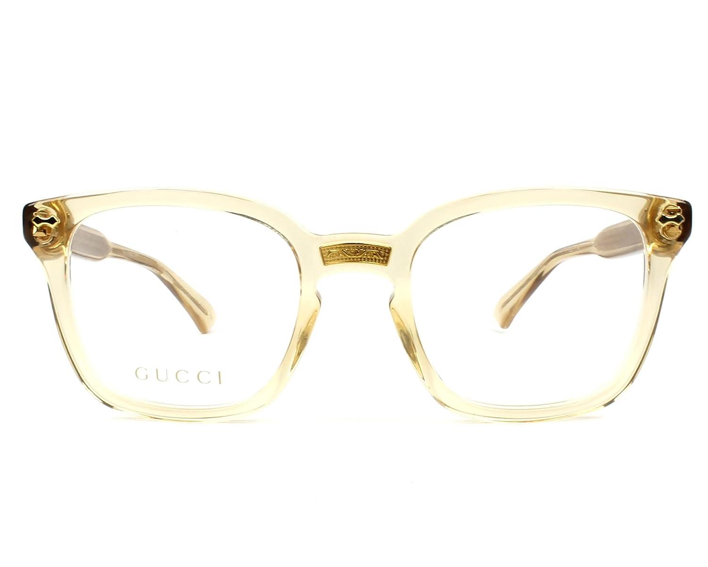 Lunettes de vue Gucci GG 0184 O 004  Amazon.fr  Vêtements et accessoires 6ebad0242f3