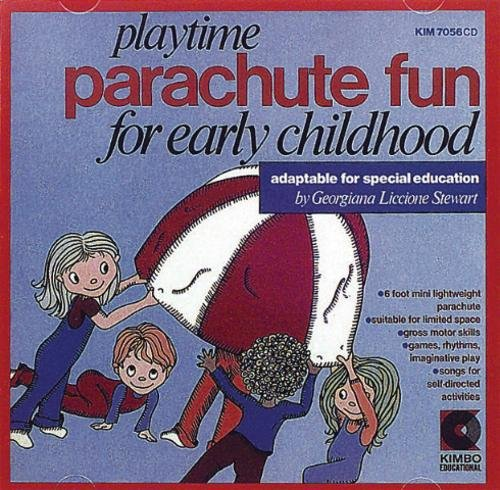 Playtime Parachute Fun (Educational Kimbo Cds)