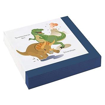 T-Rex Triceratops - Servilletas para Fiestas de cumpleaños ...