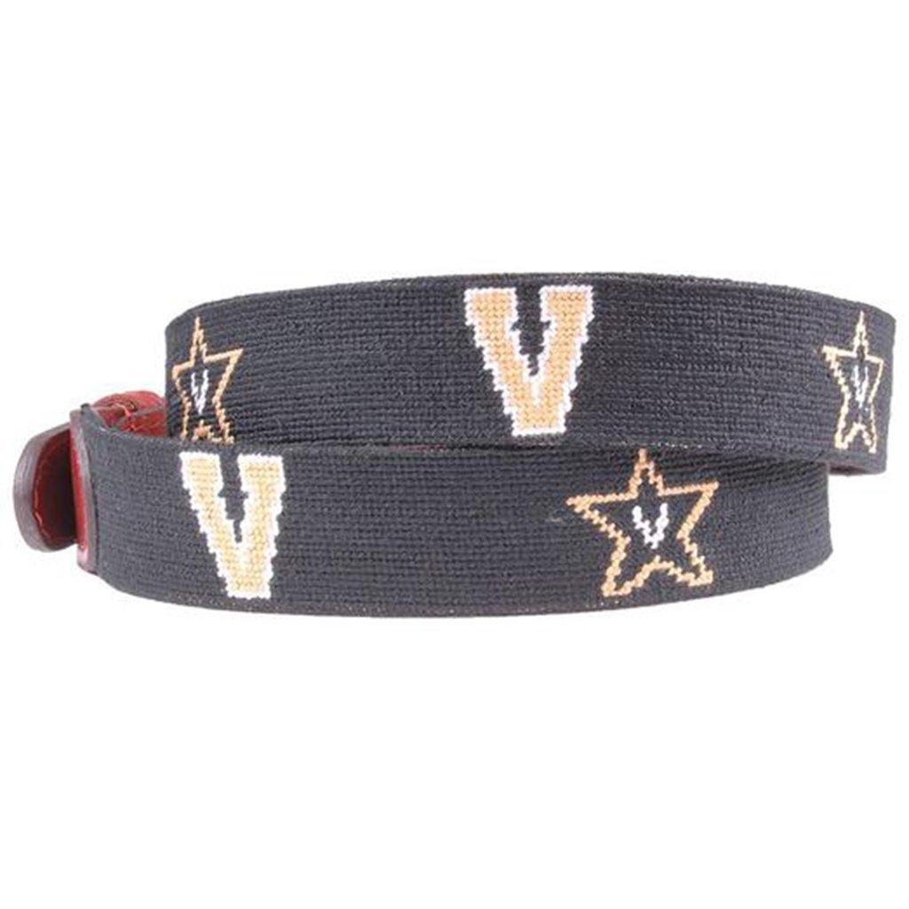 Vanderbilt University Needlepoint Belt by Smathers /& Branson