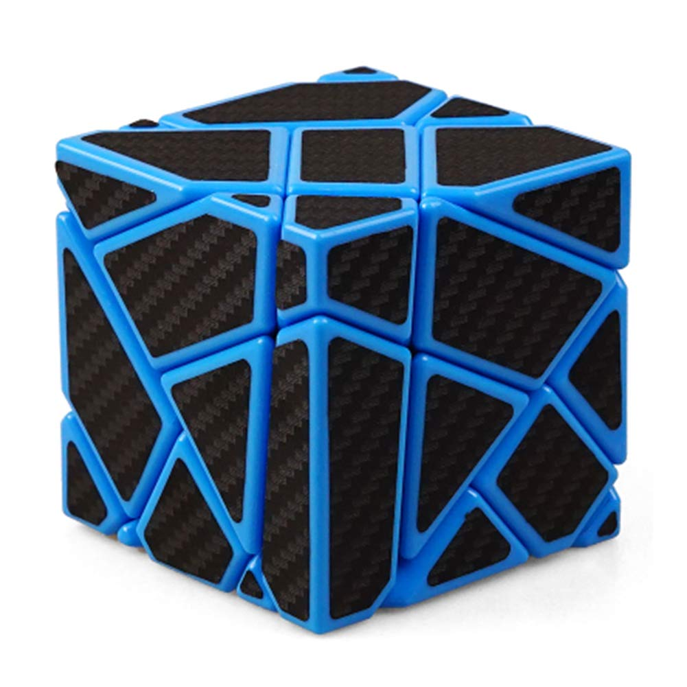 JIAAE 3X3 Allotype Rubik's Cube High Difficulty Puzzle Rubik Children Intelligence Toy,Blue