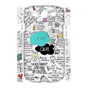 ALICASE Cover Case Okay Okay 3D Diy For Samsung Galaxy S3 I9300 [Pattern-1]