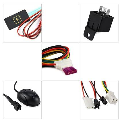 pigglyville (TM) GT06 GPS SMS GPRS Coche Vehículo Tracker ...