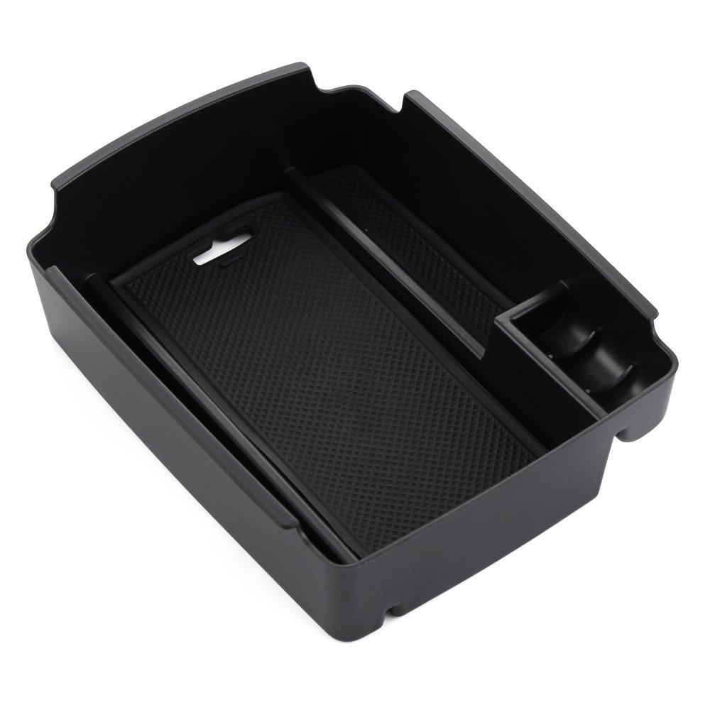 Bracciolo centrale, dotato di vano portaoggetti, adatto solo per veicoli con cambio automatico WOQUi