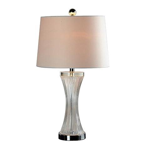 Lámpara de mesa,Melón Líneas clásicas lámparas de cristal ...