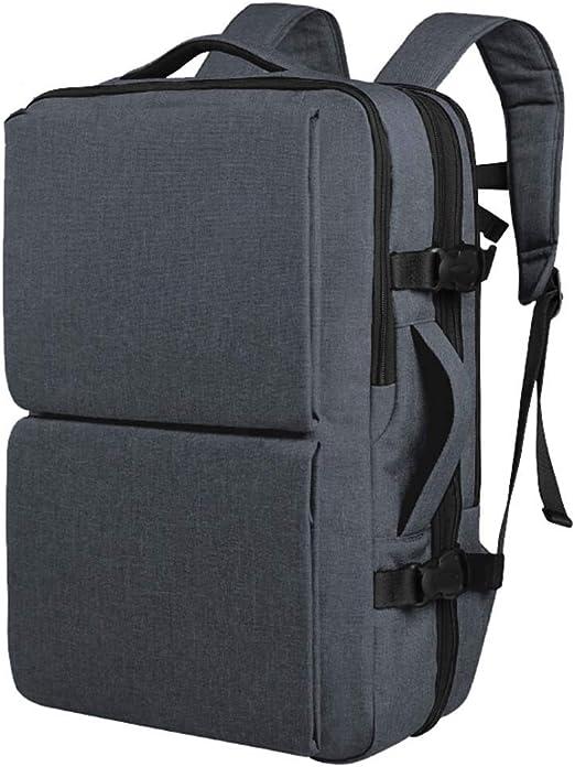 Color : Black Fashion Large Capacity Black CONGMING Mens Backpack Business Bag Leisure Bag School Bag Laptop Bag Travel Bag