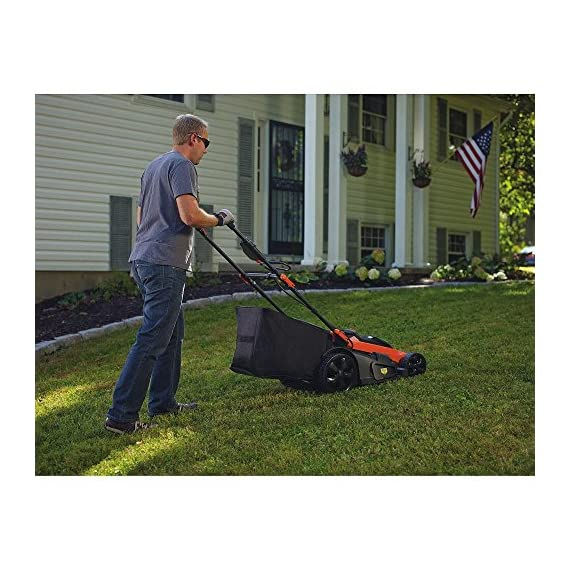 BLACK+DECKER 40V MAX Cordless Lawn Mower, 20-Inch (CM2043C) 2 Two 40V max Lithium ion batteries are included for twice the runtime Mulching, bagging and side discharge of grass clippings gives you 3-in-1 versatility Mow right up to edges and spend less time trimming thanks to the edgemax design