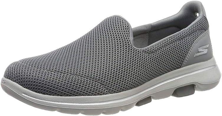 entrega excepto por cuidadosamente  Amazon.com: Skechers Women's Slip On Trainers: Shoes