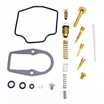 Outlaw Racing OR2548 Carburetor Complete Master Repair Rebuild Kit Yamaha Tt-R230 Ttr230 2005-2009: Automotive