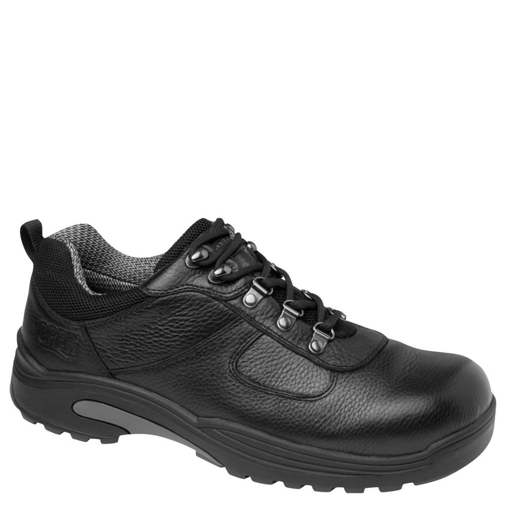 Drew Shoe Men's Boulder Low-Cut Hiking Boot,Black,10.5 M US