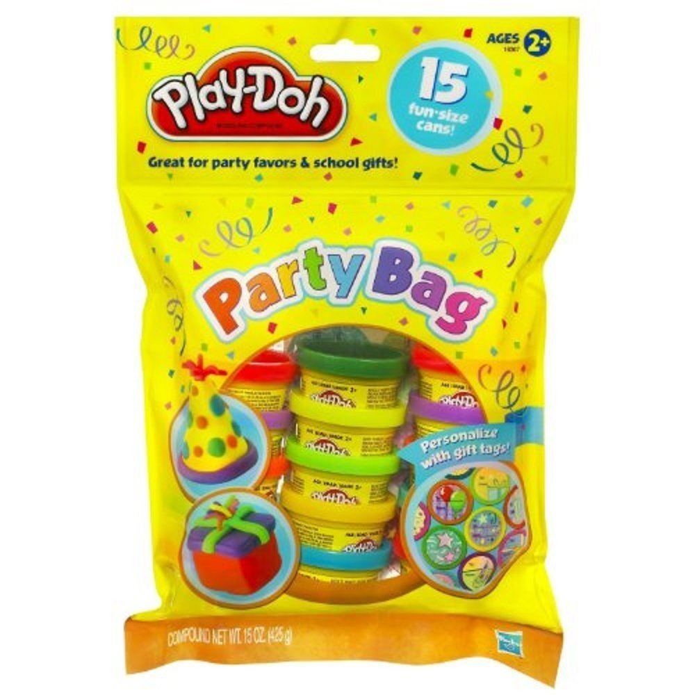 PlayDoh Party Bag Dough 15 Count (Assorted colors)