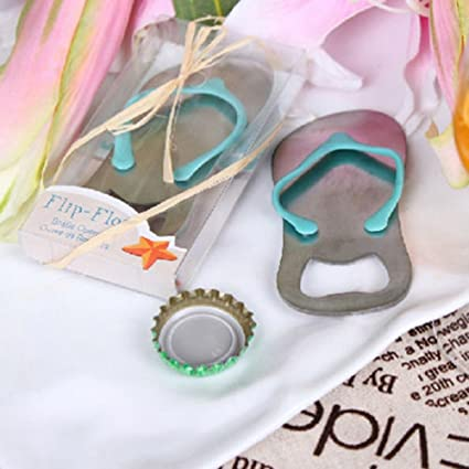Ligntean Bridal Beach Party Wedding Favors Flip Flop Bottle Opener Kitchen Corkscrew