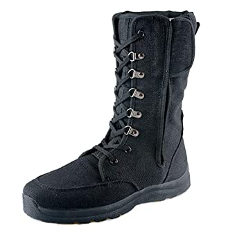 Amazon.com N.Y.L.A. Summer Male Black Tactical Boots