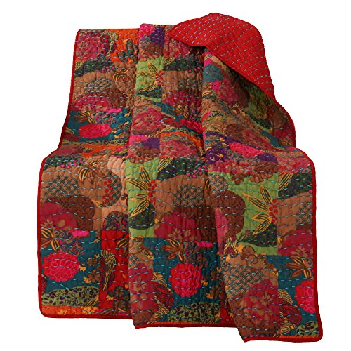 Greenland Home Jewel Throws, Multicolor