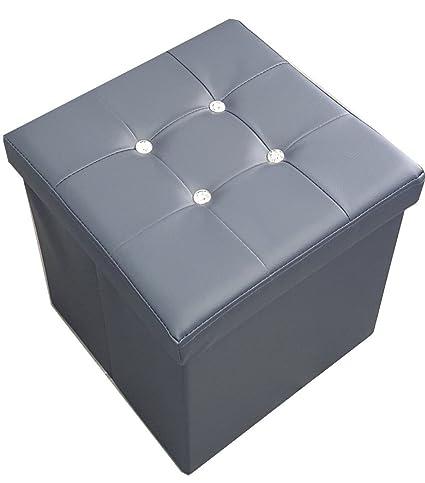 Russo Tessuti Puf Puff Box Caja taburete caja plegable ...