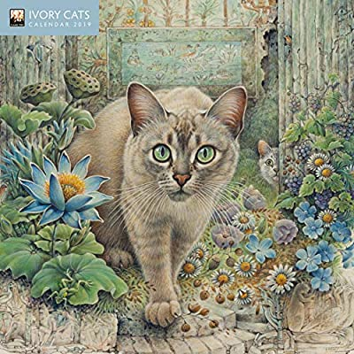 Mini calendario 2019 gatos en el arte Ivory (ft) – Pintura de gato ...