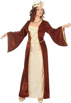 NET TOYS Vestido de Princesa Disfraz Medieval Dama: Amazon.es ...