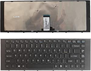 Laptop Replacement Keyboard Fit Sony Vaio PCG-61211L PCG-61313L PCG-61211T US Layout