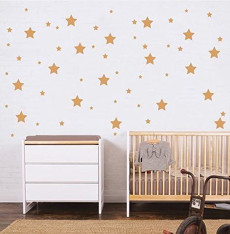 Pegatina De Pared Para Habitación Infantilset 150 Ud Estrellas Adhesivas Vinilos Decorativos De Estrellas Vinilo Para Decorar Habitaciones