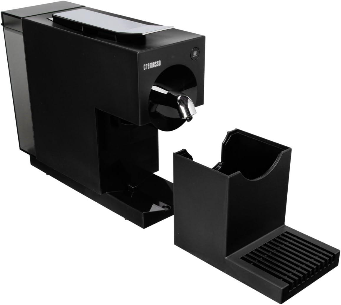 Cremesso UNO - Cafetera (Negro, Cápsulas, Caffe lungo, Café ...
