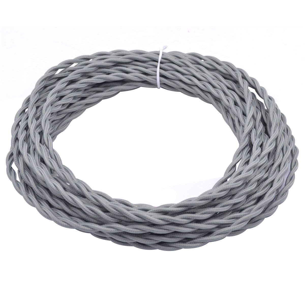 Best Rated In Electrical Wire Helpful Customer Reviews Lamp Wiring Black White 328ft Grey Twisted 18 2 Rayon Covered Wirehession Antique Industrial Cloth