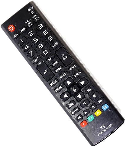 Nueva sustituir Impuestos AKB73715603 Fit Mando a distancia para LG: Amazon.es: Electrónica