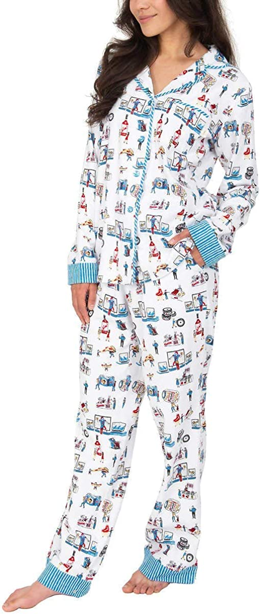 Munki Munki Ladies' Flannel PJ Set
