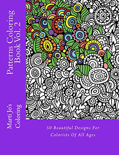 Patterns Coloring Book Vol. 2