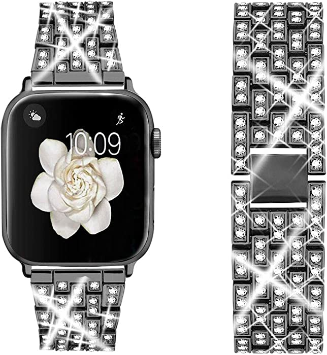 The Best Mesh Band Apple Watch 38Mm With Rhinestones