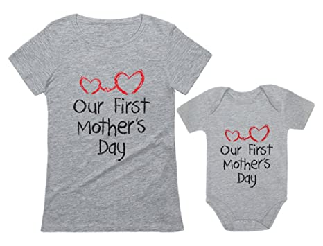 amazon com tstars our first mother s day gift for mom baby