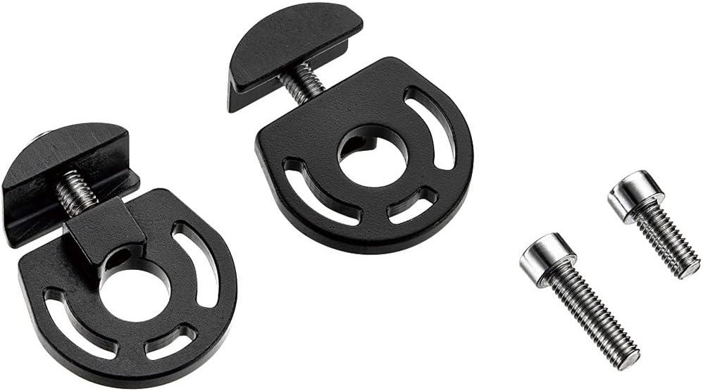 """Origin8 Bicycle Chain Tension Adjuster-3//8/""""-Black-Pair"""