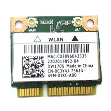 DELL WIRELESS 1705 BLUETOOTH ATHEROS DRIVERS UPDATE