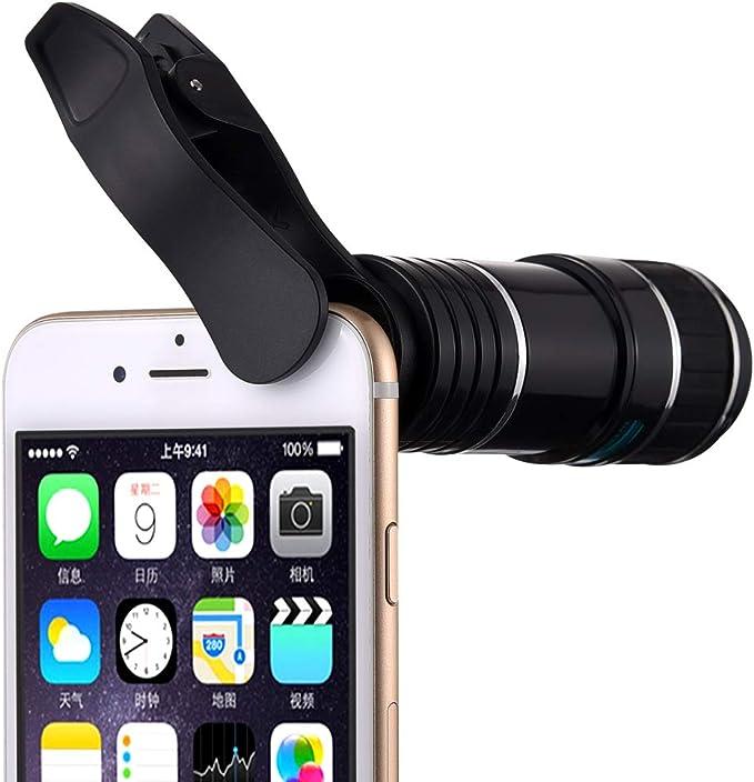 12 x teleobjetivo, vorida teléfono celular Kit de lente de cámara ...