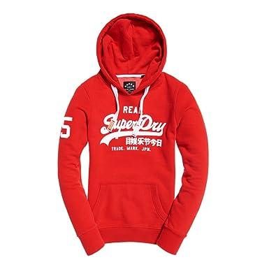 liquidation à chaud ventes spéciales gros en ligne Superdry - Sweat à Capuche - Femme Rouge Red