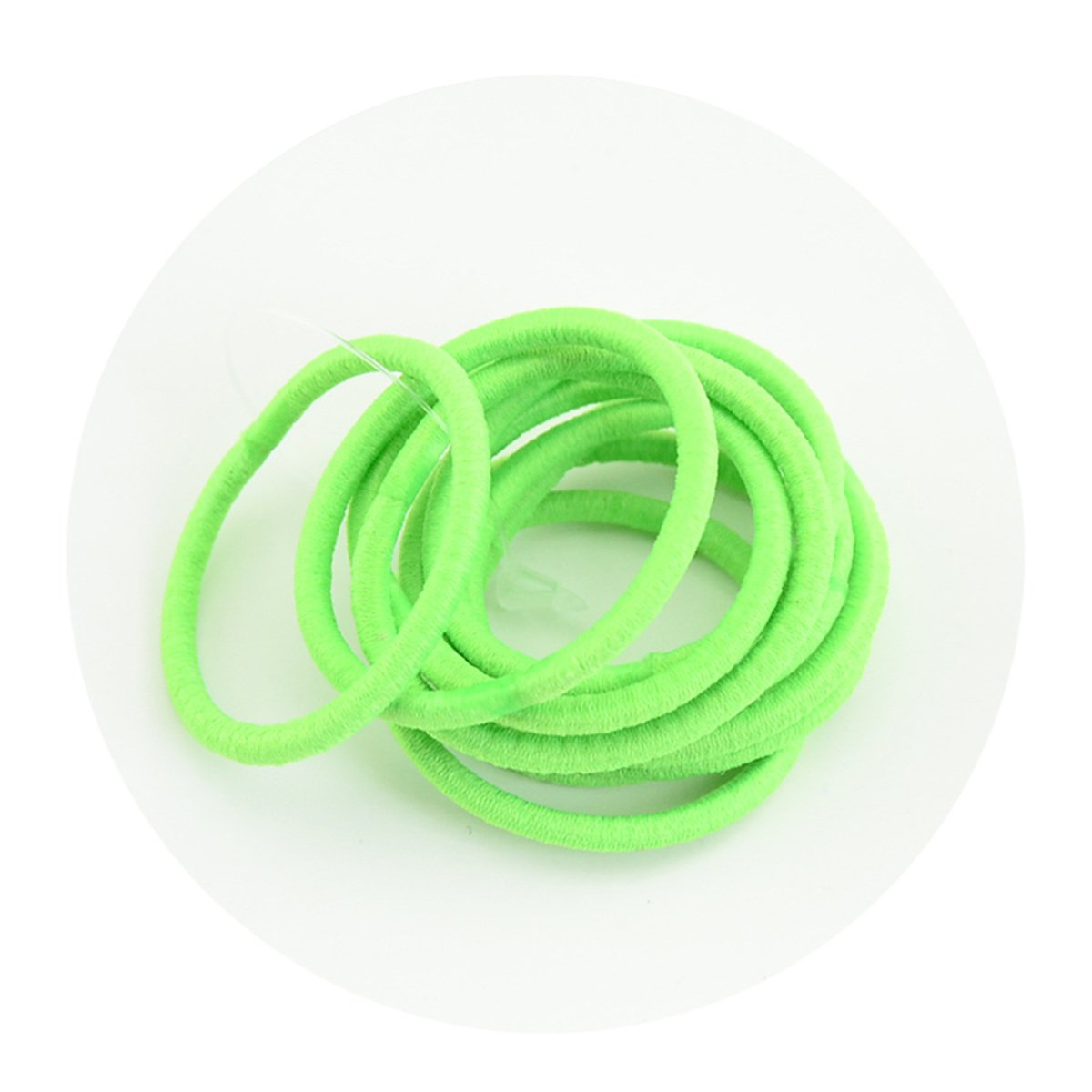 Details about  /Elastic Clear Ponytail Holder Fashion Rubber Band Hair Ties Rope Rings Supplies