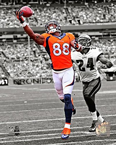 The Denver Broncos Demaryius Thomas, 8x10 Action Photograph Picture