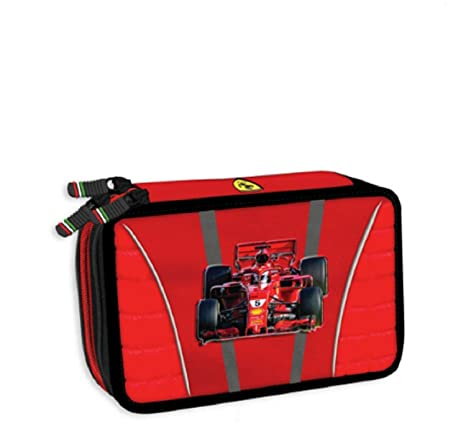 Scuderia Ferrari - Estuche con 3 cremalleras, colección ...