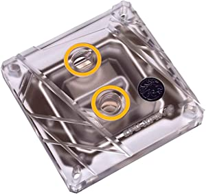 Bykski CPU-XPR-A-V2 CPU Water Cooling Block - Clear w/RGB (LGA 115x / 20xx)