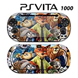Decorative Video Game Skin Decal Cover Sticker for Sony PlayStation PS Vita (PCH-1000) - Zootopia